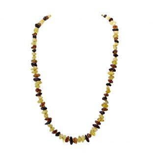 Jantárový náhrdelník z viacfarebného jantáru