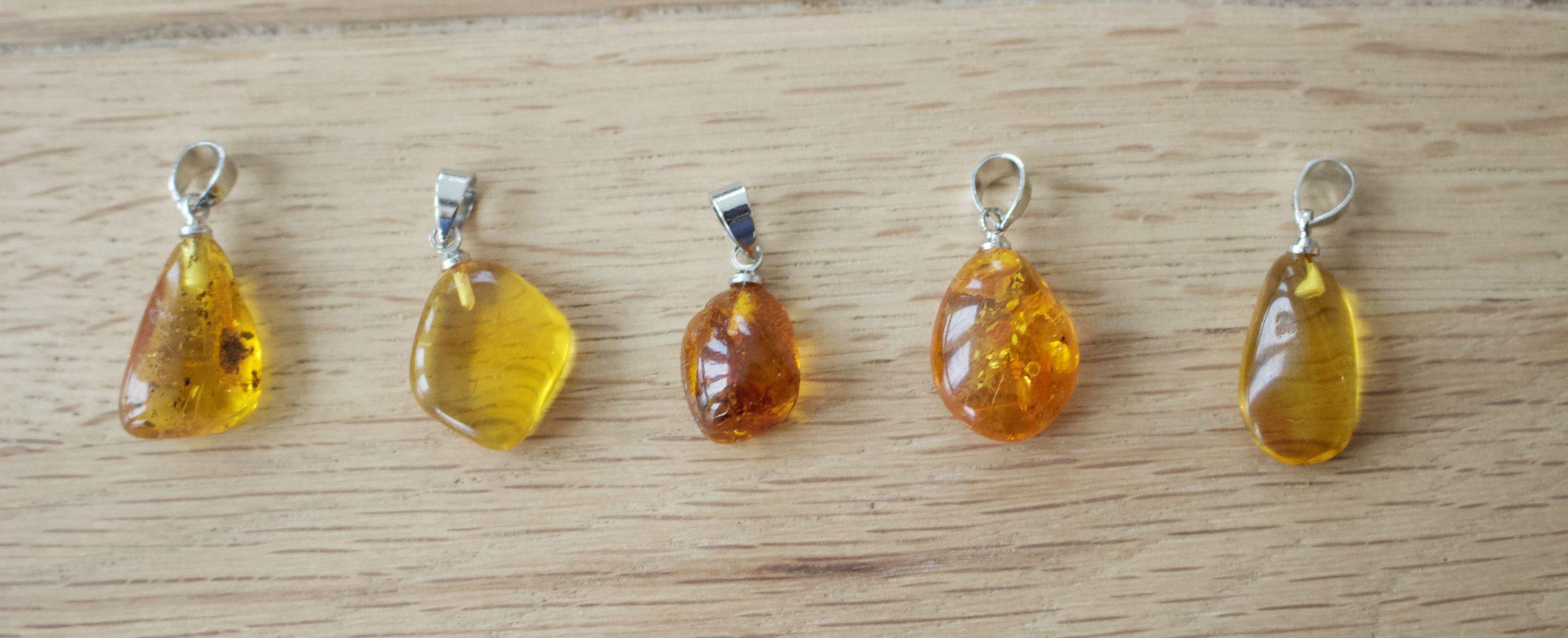 Šperky z baltického jantáru